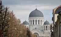 Ginčas dėl pastolių neleidžia pabaigti Kauno Soboro rekonstrukcijos