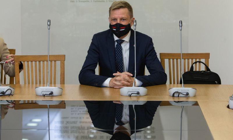 Remigijus Šimašius, Vilniaus meras. Vladimiro Ivanovo (VŽ) nuotr.