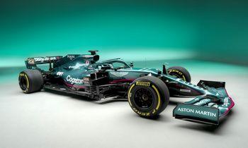 """Nauja """"Aston Martin"""" era: grįžimas į """"Formulę-1"""""""