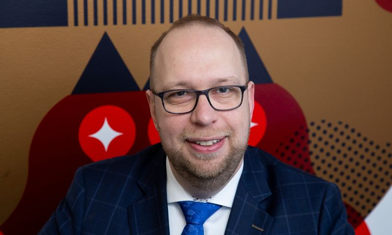 Andrius Francas, Alliance for Recruitment partneris. Vladimiro Ivanovo (VŽ) nuotr.