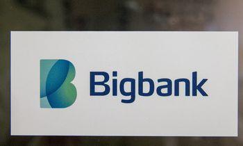 """""""Bigbank"""" pirmojo ketvirčio pelnas išaugo šeštadaliu"""