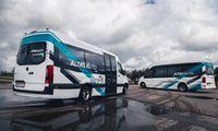 """""""Altas Auto"""" pristatė su """"Elinta"""" sukurtus lietuviškus elektrobusus"""