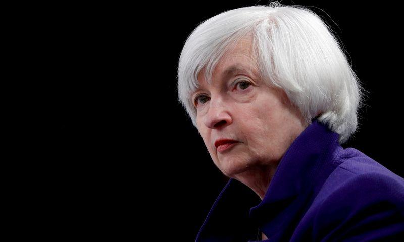 "JAV Iždo sekretorė Janet Yellen. Jonathano Ernsto (""Reuters"" / ""Scanpix"") nuotr."