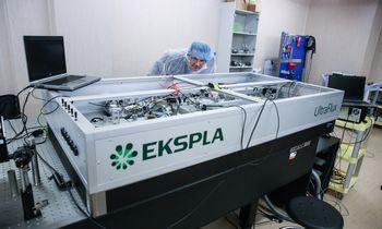 Pandemija išderino lazerių projektus
