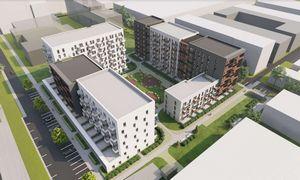 """""""Hanner"""" su """"Trinapoliu"""" Vilniaus Kuro aparatūros teritorijoje planuoja 400 būstų"""