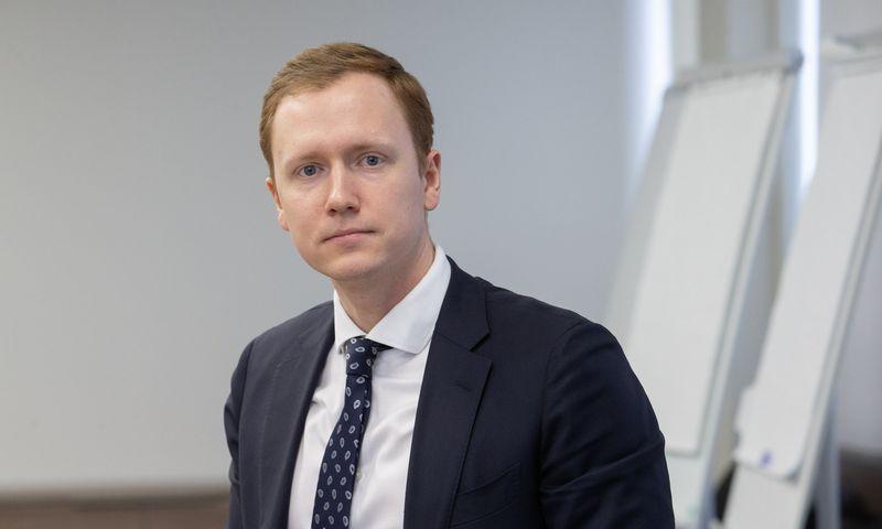 Mindaugas Liutvinskas, finansų viceministras.  Juditos Grigelytės (VŽ) nuotr.