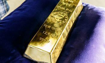 LB valdomo aukso investicijų grąža – apie0,27%.