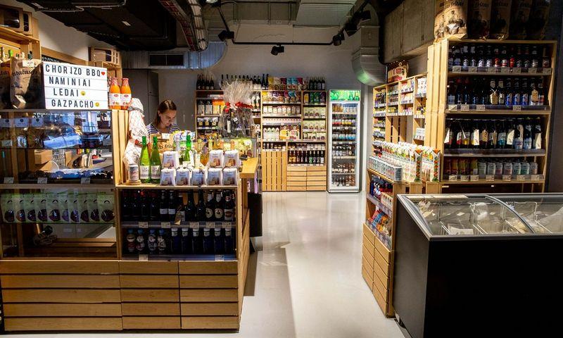 """Maisto turgus """"Uptown Bazaar"""" Vilniuje. Juditos Grigelytės (VŽ) nuotr."""