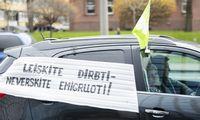"""""""Belorus"""" darbuotojams protestuojant Vilniuje, URM žada siekti sanatorijos perėmimo"""
