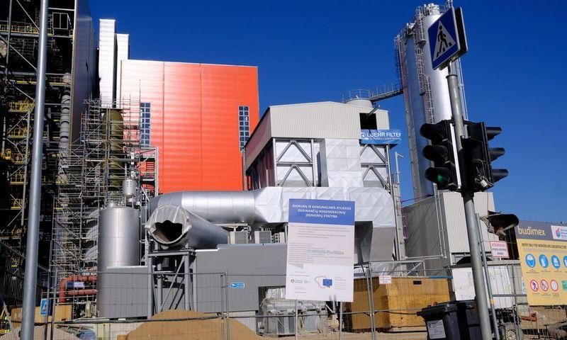 Vilniaus kogeneracinė jėgainė iš EIB gavo iki 190 mln. eurų paskolą.