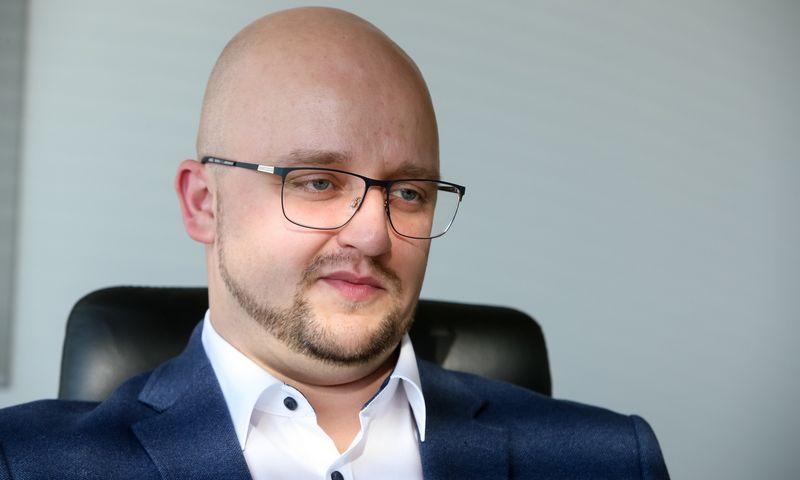 """Ignas Vosylius, UAB """"Axioma metering"""" generalinis direktorius. Vladimiro Ivanovo (VŽ) nuotr."""