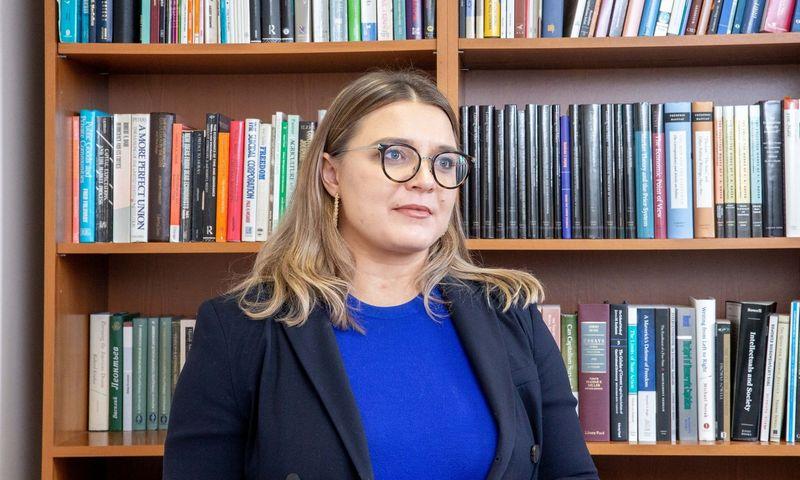 Ieva Valeškaitė, ekonomikos ir inovacijų viceministrė. (VŽ) nuotr.
