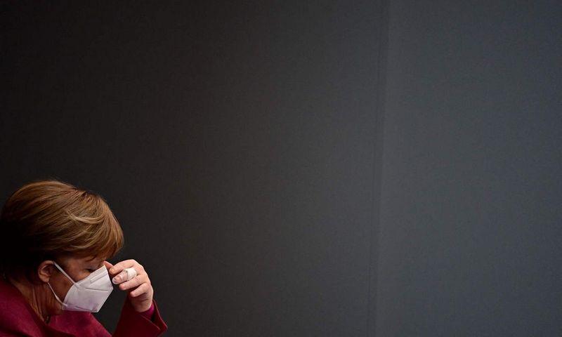 Angela Merkel, Vokietijos kanclerė. Tobias Schwarz (AFP/Scanpix) nuotr.