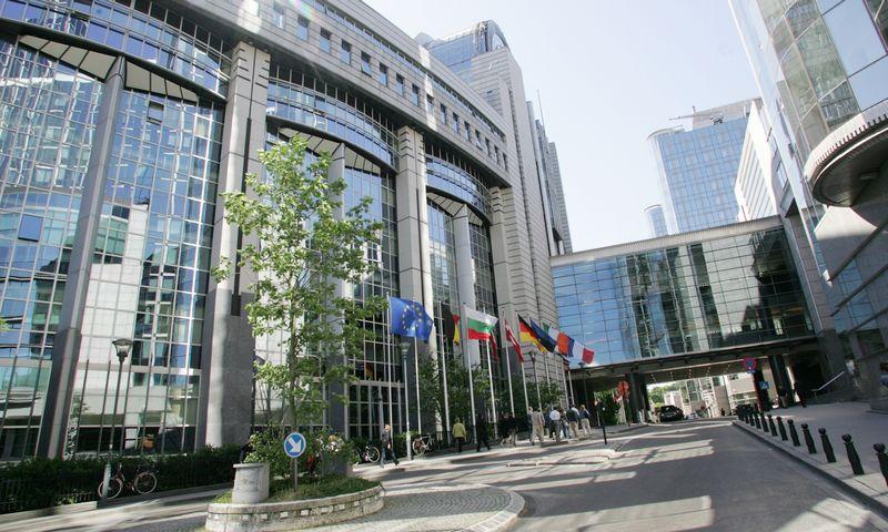 Europos parlamento rūmų pastatas. Juditos Grigelytės (VŽ) nuotr.