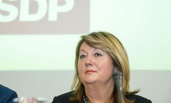 Naujoji Socialdemokratų pirmininkė V. Blinkevičiūtė: svarbiausias darbas – pergalė savivaldos rinkimuose