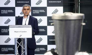 Leiboristas S. Khanas perrinktas Londono meru