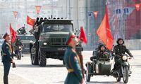 Maskvoje vyksta Pergalės paradas