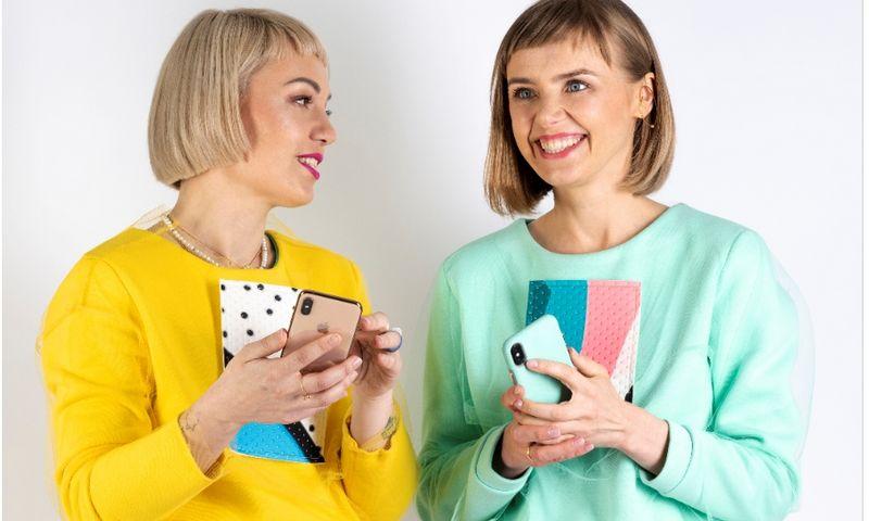 """Viktorijos Bugajenko dizaino studiją """"Zefyras"""" (iš kairės) ir Guoda Sakalauskienė, """"Promefile"""" įkūrėja ir vadovė, asmeninio prekės ženklo konsultantė. Bendrovės nuotr."""