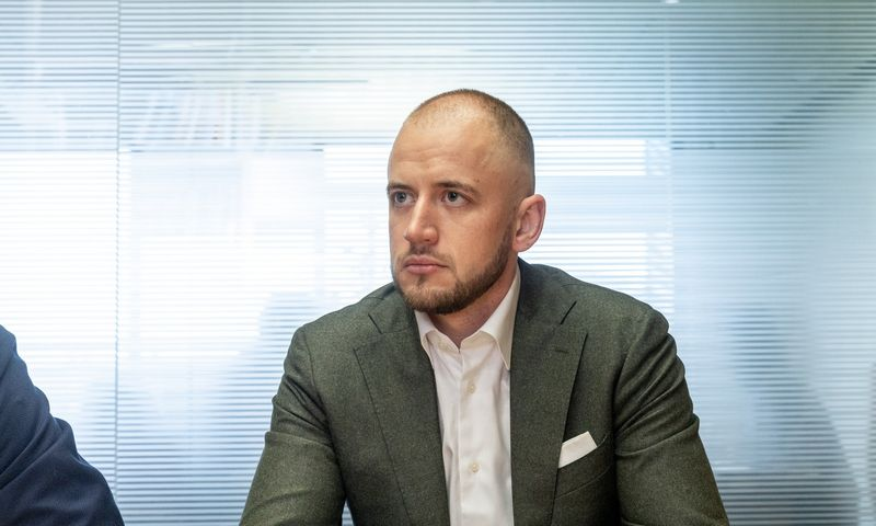 """Benas Pavlauskas, AS """"Inbank"""" filialo Lietuvoje vadovas. Juditos Grigelytės (VŽ) nuotr."""