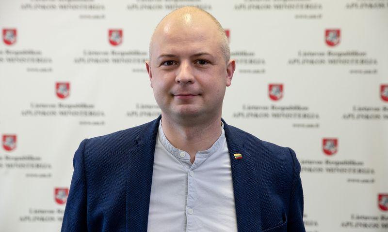 Simonas Gentvilas, aplinkos ministras. Vladimiro Ivanovo (VŽ) nuotr.