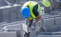 Statybų Latvijoje šiemet 12,4% mažiau