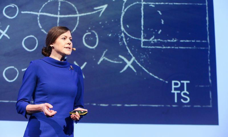 Indrė Genytė-Pikčienė, INVL vyriausioji ekonomistė.  Vladimiro Ivanovo (VŽ) nuotr.