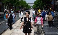 Kinijos populiacija augo lėčiausiu tempu per pastarąjį dešimtmetį