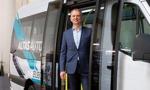 "Sunkmetį įveikęs ""Altas Auto""vėl kyla su ""Elinta Motors"" elektros pavara"