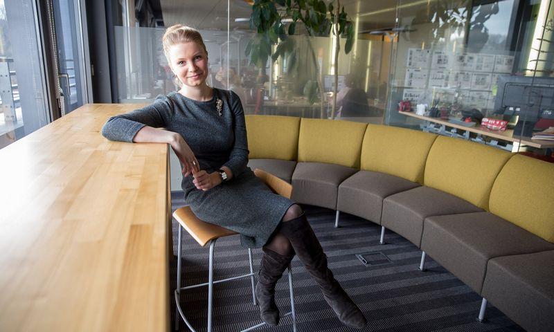 Kotryna Stankutė-Jaščemskienė, MJJ fondo vadovė. Vladimiro Ivanovo (VŽ) nuotr.