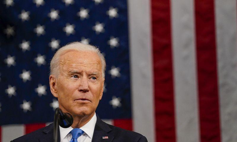 "Joe Bidenas, JAV prezidentas. ""ZUMA Wire"" / ""Scanpix"" nuotr."