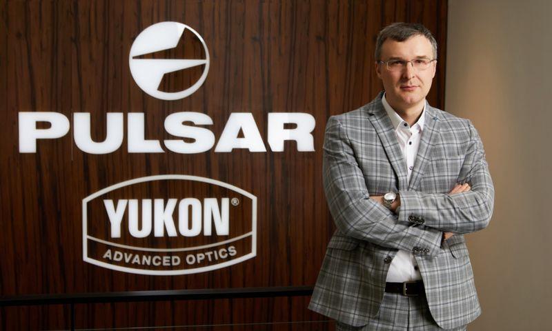 """Georgijus Nikonorovas, """"Yukon Advanced Optics Worldwide"""" Lietuvos padalinio personalo vadovas. Bendrovės nuotr."""