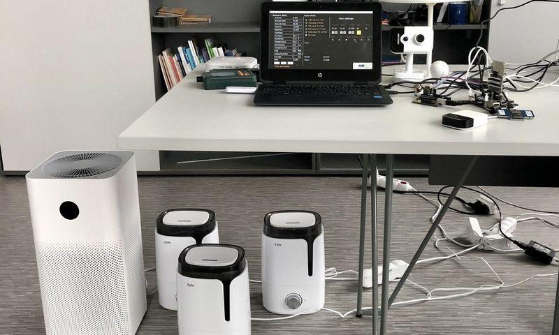 Vilnius Tech mokslininkų sukurta inovatyvių erdvių sistema.
