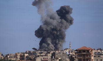 """""""Hamas"""" paleido raketąIzraelio antrojo pagal svarbą oro uosto link"""