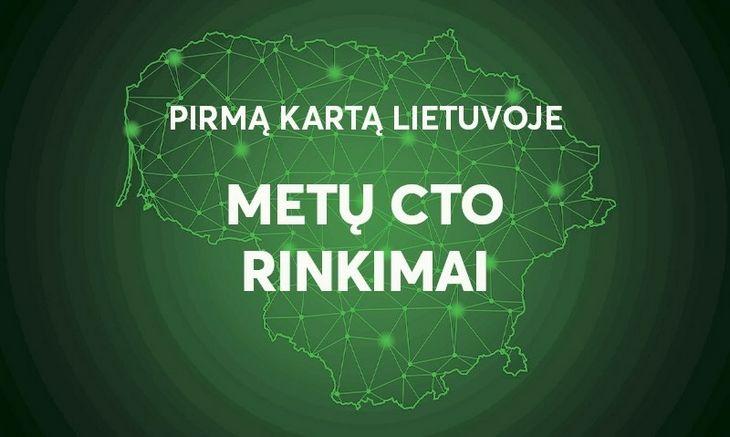 """Pirmą kartą Lietuvojeorganizuojami """"MetųCTO""""rinkimai: kviečiame teikti paraiškas"""