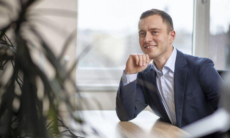 """Karolis Proscevičius, """"Green Genius"""" Pardavimų komandos vadovas: """"Vidutinių ir mažesnių įmonių sprendimams didelę svarbą turi asmeninis vadovų požiūris."""" BENDROVĖS NUOTR."""