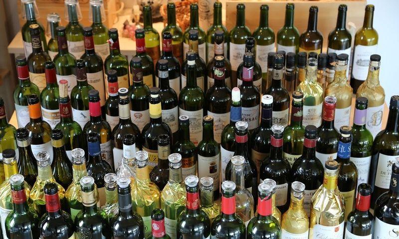 En primeur ragavimai Vyno klube. Arūno Starkaus nuotr.
