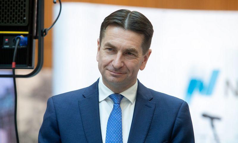 """Darius Maikštėnas, UAB """"Ignitis grupė"""" valdybos pirmininkas ir generalinis direktorius. Juditos Grigelytės (VŽ) nuotr."""