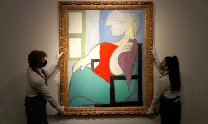 P. Picasso mūzos portretas parduotas už 103,4 mln. USD