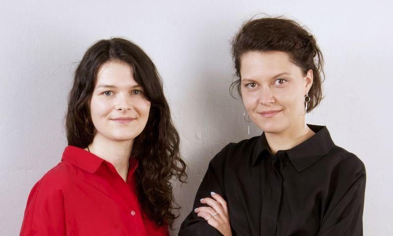"""""""Mindletic"""" įkūrėja Ieva Vaitkevičiūtė (dešinėje) ir partnerė Ieva Šapalaitė. Bendrovės nuotr."""