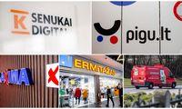 TOP 20 prekybininkų, sumokėjusių daugiausia mokesčių: e. komercijos atstovų šuolis