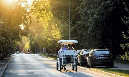 Palangos centre pabrango automobilių parkavimas, brangti gali ir Kaune