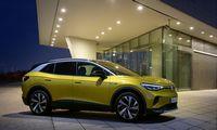 """VŽ bando: stambesnio kalibro """"Volkswagen ID"""" elektromobilis"""