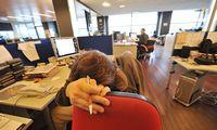 PSO studija: dėl per ilgos darbo dienos miršta per 700.000 žmonių
