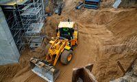 Statybų Lietuvoje šiemet 4% mažiau