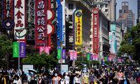 Kinijos pramonė ir prekyba balandį nepavijo lūkesčių