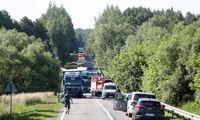 Ruošiamasi kelio tarp Kauno ir Prienų rekonstrukcijai