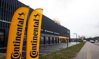 """Continental"" Lietuvoje pelningai dirbti tikisi 2023 m."