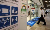 Japonijos ekonomika susitraukė labiau nei tikėtasi