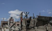 Raketos laimi prieš diplomatines pastangas nutraukti Izraelio ir palestiniečių kovas