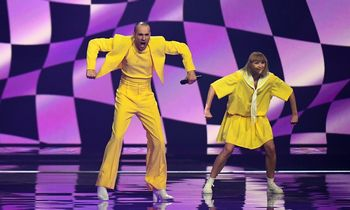 "Geltonoji ""The Roop"" diskoteka skambės ""Eurovizijos"" finale"
